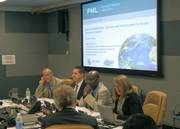 Dr Carol Turley as a panelist at the UN General Assembly IAEA side event