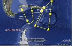 Antarctic cruise tract